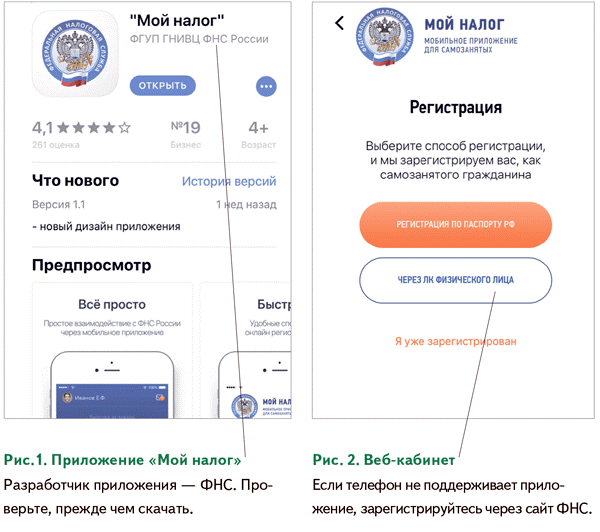 Как перейти нановый спецрежим— самозанятые граждане